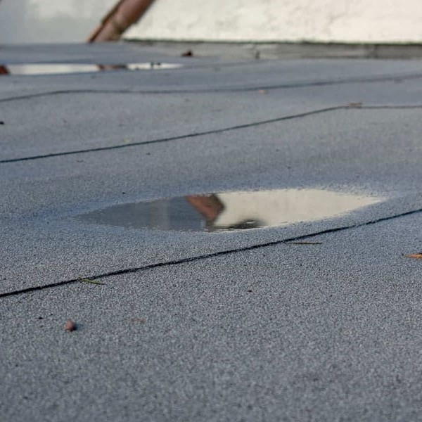 Is Ponding Normal on a Flat Roof?